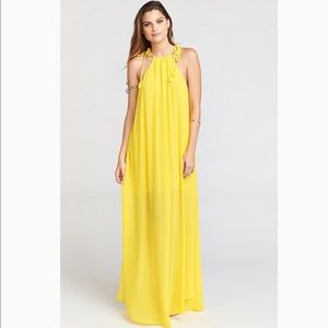 595ee83227 Show Me Your MuMu Dresses - Show me your mumu daffodil chiffon Rochester  maxi